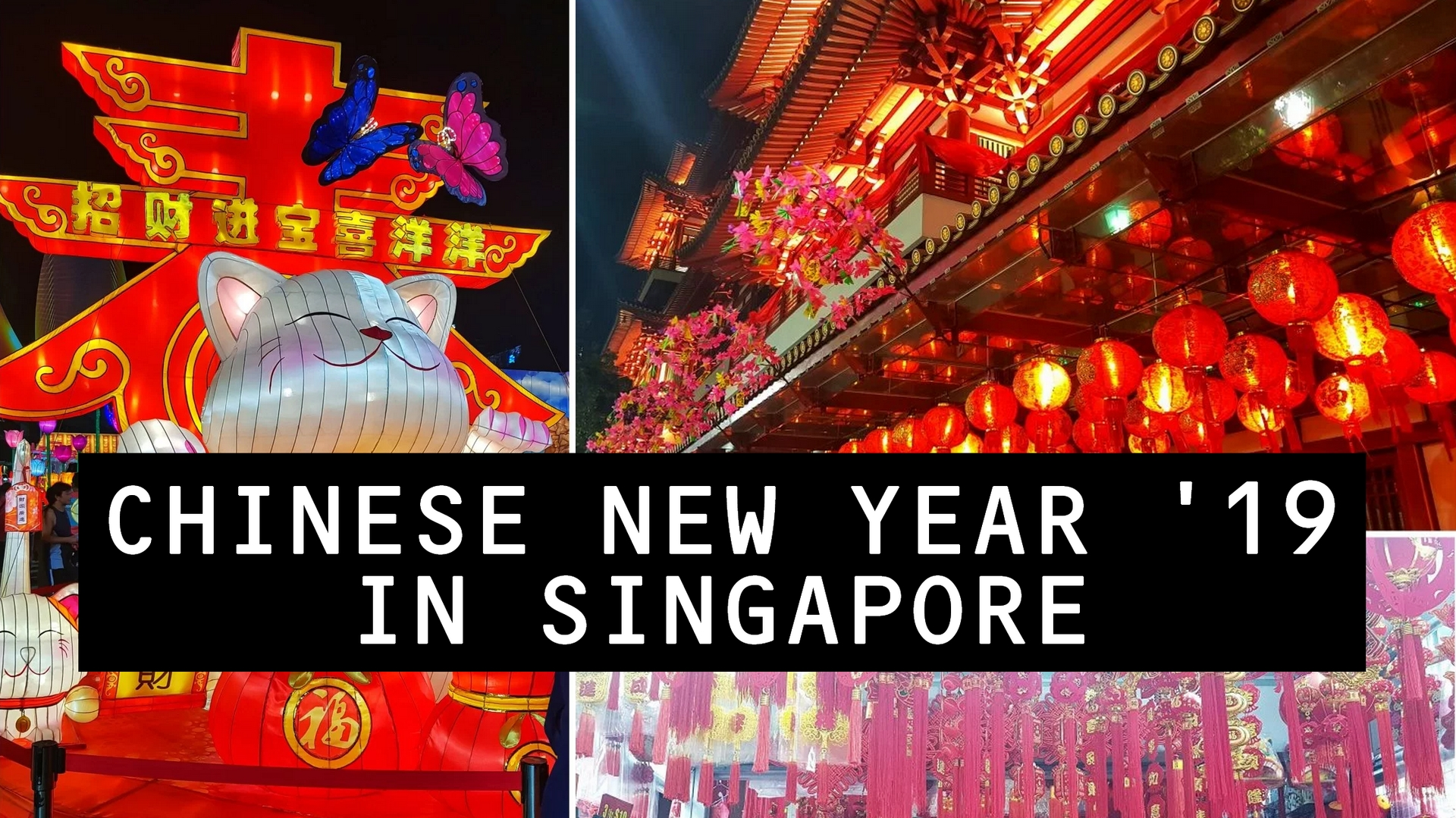 Happy Chinese New Year '19 From Singapore!